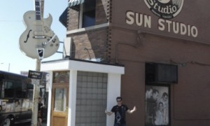 At Sun studio Menphis