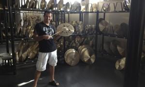 Picking cymbals